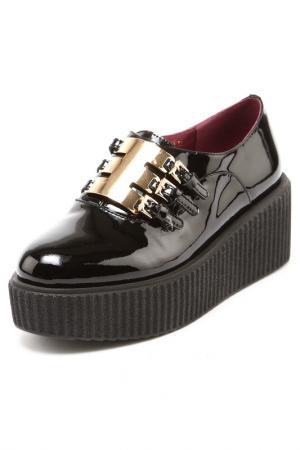 Туфли Medea. Цвет: черный
