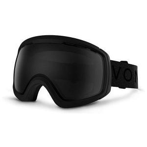 Маска для сноуборда  Feenom Nls Black Satin/Blackout Von Zipper. Цвет: черный
