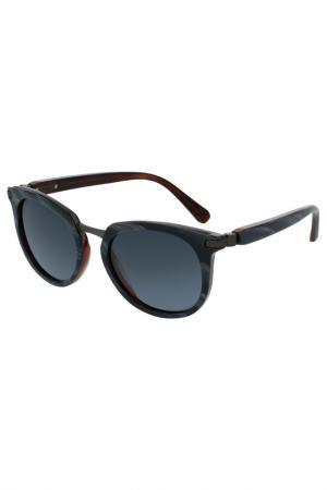 Солнцезащитные очки Brioni. Цвет: 004