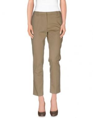 Повседневные брюки ROOM 52. Цвет: хаки
