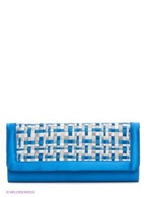 Клатч Eleganzza. Цвет: синий, серый