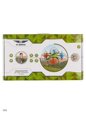 Квадрокоптер  Fly-0244 на радиоуправлении Голосовое управление От винта. Цвет: зеленый, красный, белый, черный