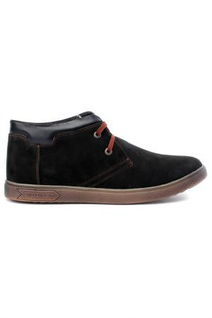 Ботинки ELROSSO EL'ROSSO. Цвет: черный