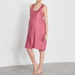 Сорочка ночная для беременных, 100% вискозы COCOON. Цвет: розовый,черный