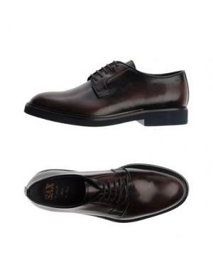 Обувь на шнурках SAX. Цвет: темно-коричневый