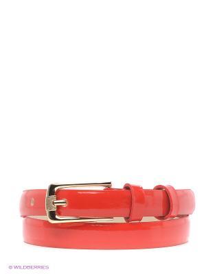 Ремень Vittorio Richi. Цвет: красный