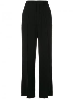 Укороченные брюки клеш Chloé. Цвет: чёрный