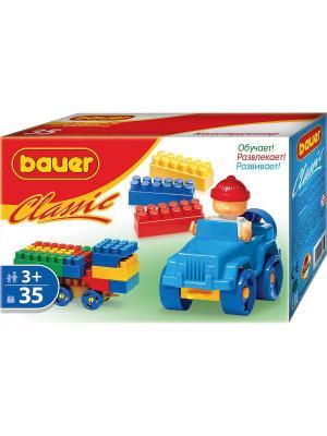 Конструктор Bauer серии Сlassic 35 эл. (в коробке) 54/54. Цвет: голубой