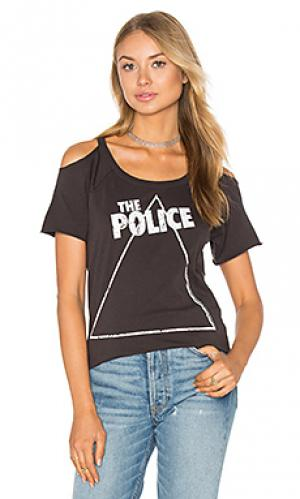 Футболка the police zenyatta Chaser. Цвет: уголь