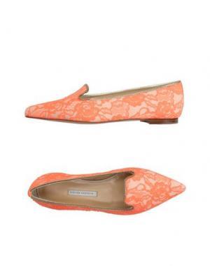Мокасины BIONDA CASTANA. Цвет: оранжевый