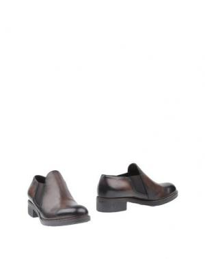 Ботинки ANGELA GEORGE. Цвет: темно-коричневый