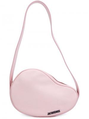 Сумка на плечо Le Haricot Jacquemus. Цвет: розовый и фиолетовый