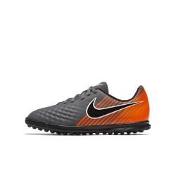 Футбольные бутсы для игры на искусственном газоне дошкольников/школьников  Jr. Magista ObraX II Club TF Nike. Цвет: серый