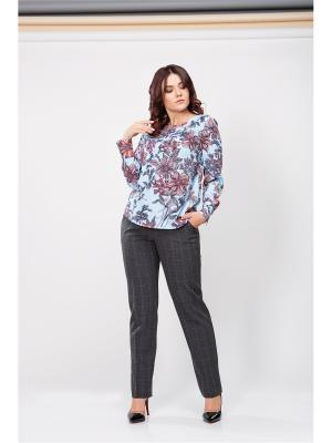 Блузка ELNY. Цвет: голубой