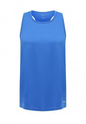 Майка спортивная Craft. Цвет: синий