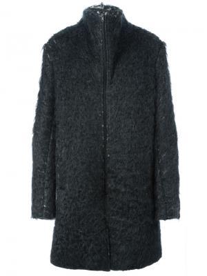 Пальто на молнии Lost & Found Ria Dunn. Цвет: серый