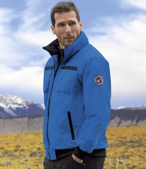Куртка из Ткани Microfibre AFM. Цвет: синии