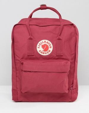Fjallraven Красный рюкзак Kanken. Цвет: красный