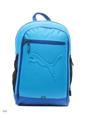 Рюкзак PUMA Buzz Backpack. Цвет: лазурный