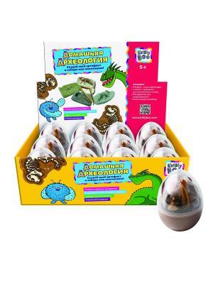 Набор для создания раскопок Динозавр, в яйце, ассортименте. Kribly Boo. Цвет: белый, коричневый