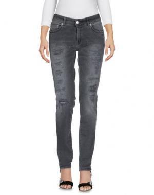 Джинсовые брюки DEPARTMENT 5. Цвет: серый