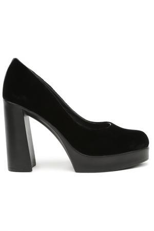 Туфли BENTA. Цвет: черный