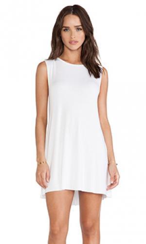 Платье без рукавов gilly Michael Lauren. Цвет: белый