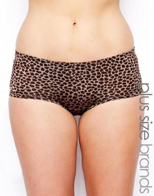 Трусики  Asia Elomi. Цвет: leopard