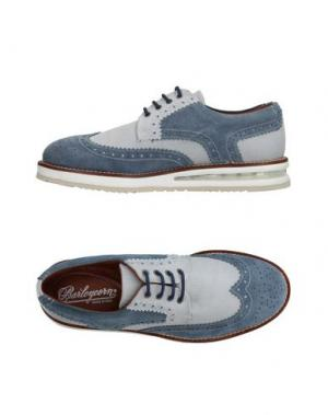 Обувь на шнурках BARLEYCORN. Цвет: грифельно-синий