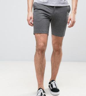 Noak Узкие трикотажные шорты. Цвет: серый