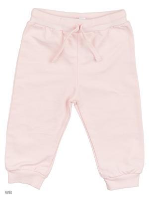 Трикотажные брюки Modis. Цвет: бледно-розовый