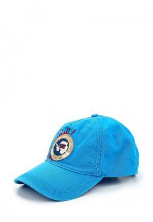 Бейсболка Napapijri. Цвет: голубой