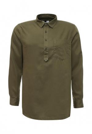 Рубашка Topman. Цвет: хаки