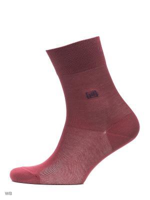 Носки PAL ZILERI. Цвет: темно-красный