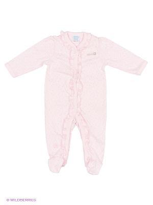 Комбинезон Cutie Bear. Цвет: бледно-розовый, кремовый
