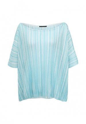 Блуза Sisley. Цвет: голубой
