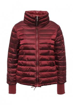 Куртка утепленная DRYWASH. Цвет: бордовый