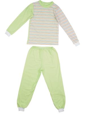 Пижама KIDONLY. Цвет: салатовый