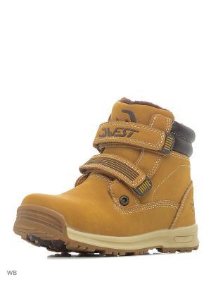 Ботинки QWEST. Цвет: светло-коричневый, бежевый