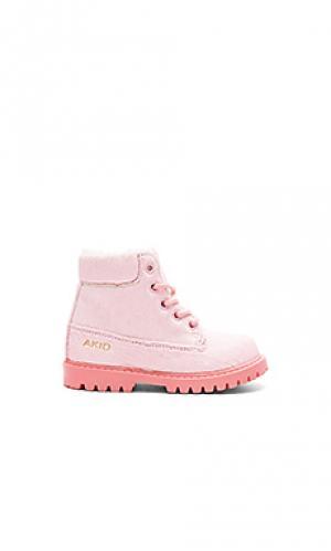 Сапоги atticus AKID. Цвет: розовый