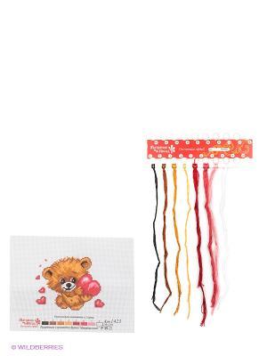 Набор для вышивания От всего сердца Матренин Посад. Цвет: белый, коричневый, розовый