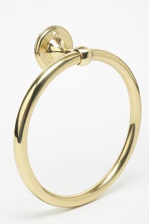 Кольцо для полотенец Stilars. Цвет: золотой