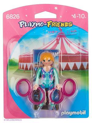 Друзья: Акробатка Playmobil. Цвет: зеленый, розовый