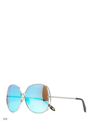 Солнцезащитные очки Vitacci. Цвет: серебристый