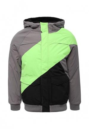 Куртка утепленная Urban Classics. Цвет: серый