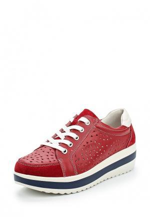 Ботинки La Grandezza. Цвет: красный
