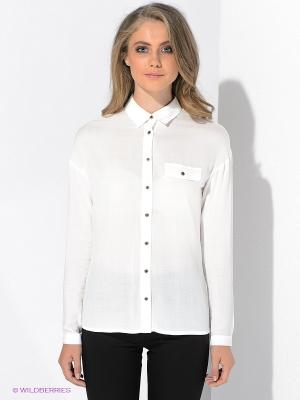 Блузка MAVI. Цвет: белый