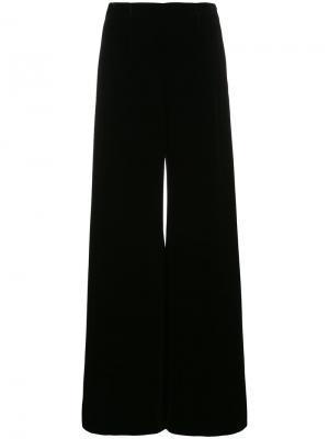 Расклешенные брюки Uppingham Roland Mouret. Цвет: чёрный