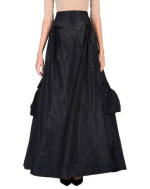 Длинная юбка CHRISTIAN LACROIX. Цвет: черный