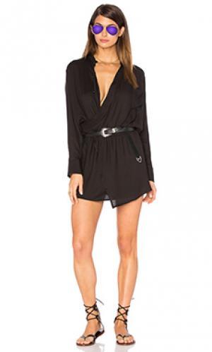 Платье Stillwater. Цвет: черный